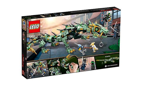 LEGO Ninjago Gröna Ninjans Robotdrake