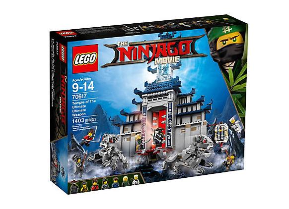 LEGO Ninjago Det Ultimata Vapnets Tempel