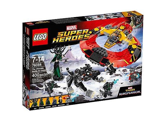 LEGO Super Heroes Den Yttersta Striden om Asgård