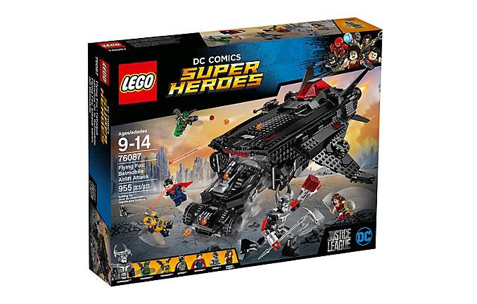 LEGO Super Heroes Flying Fox: Luftattack med Batmobile