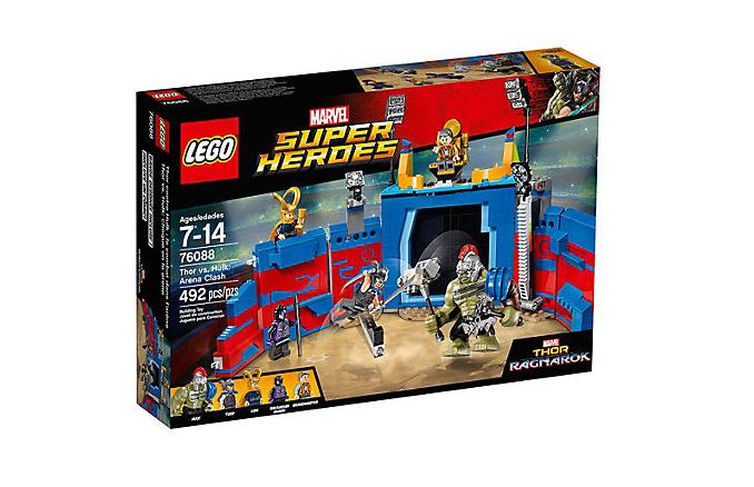 LEGO Super Heroes Thor mot Hulk: Arenadrabbning