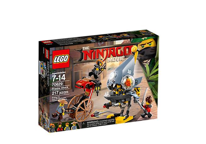 LEGO Ninjago Pirayans Attack