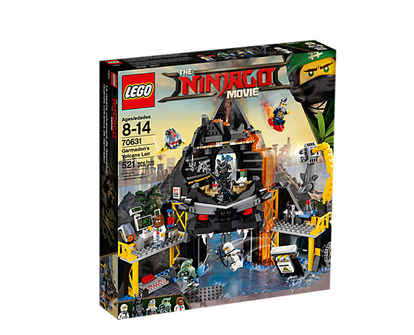 LEGO Ninjago Garmadons Vulkanfästning
