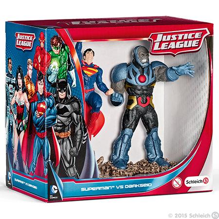 Schleich - figursæt m. superman & darkseid, 2 stk. på lager fra Schleich fra pixizoo