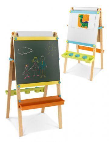 Kidkraft Kidkraft staffeli/tavle med papir rulle, 2 stk. på lager fra pixizoo