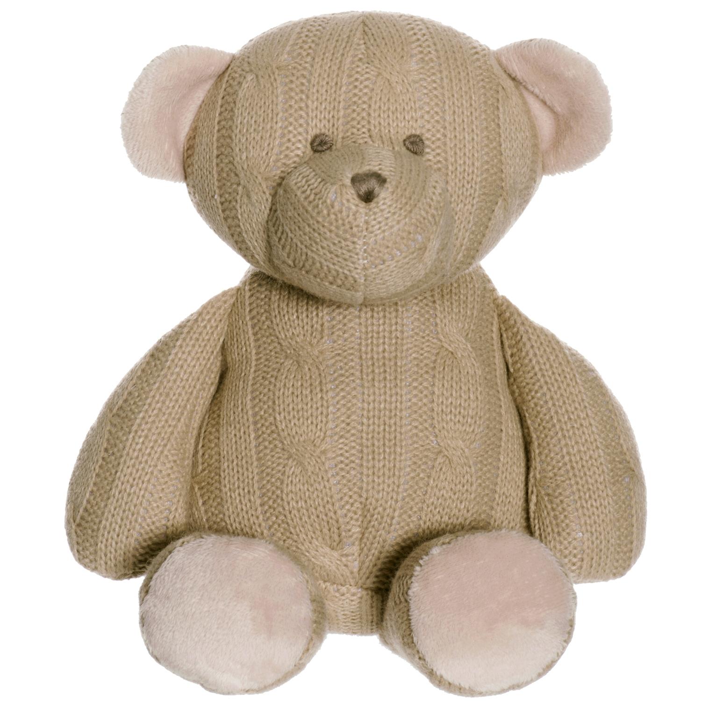 Teddykompaniet Stickad Björn Mjukisdjur