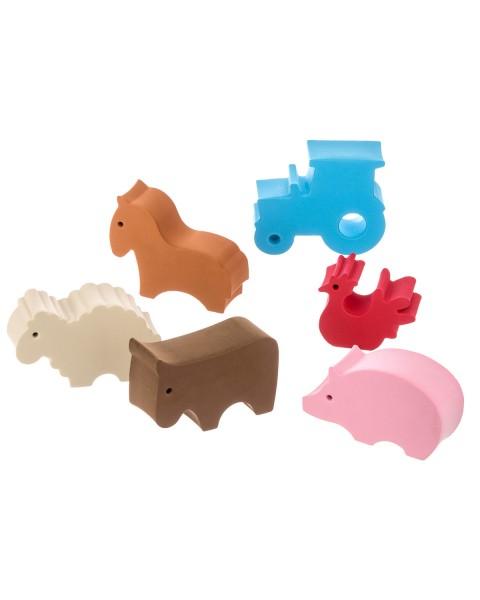 Units dd – Units - pakke med små dyr (6 stk), 1 stk. på lager på pixizoo