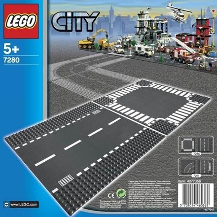 LEGO City (7280) Rak Väg och Korsning