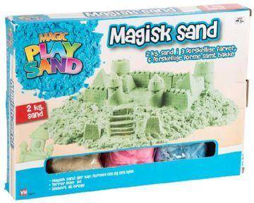 Artkids magic sand 2 kg. + 6 forme, 1 stk. på lager fra Artkids på pixizoo