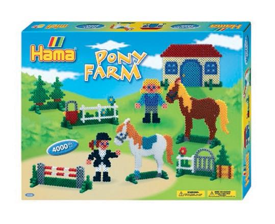 Hama midi gaveæske pony farm/13, 2 stk. på lager fra Hama fra pixizoo