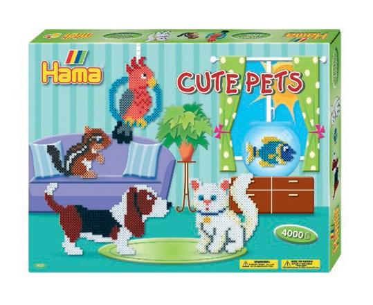 Hama Hama hama midi gaveæske cute pets/13 diverse, 2 stk. på lager fra pixizoo
