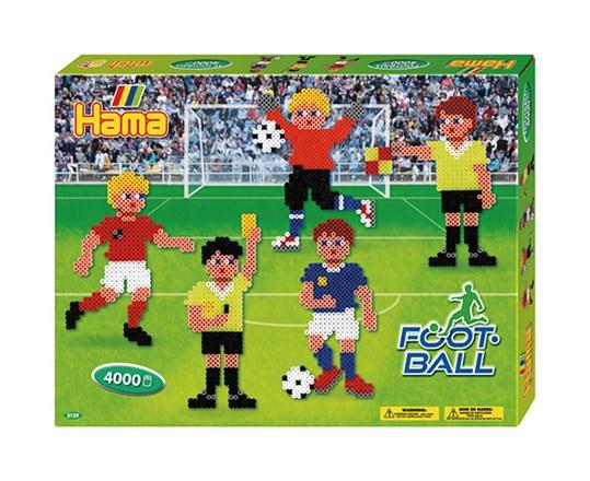 Hama Hama gaveæske - football / 14 diverse, 3 stk. på lager fra pixizoo