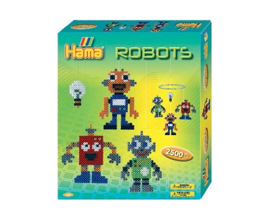 Hama Hama midi gaveæske robotter /12, 4 stk. på lager fra pixizoo