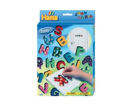 Hama midi æske letters /13, 2 stk. på lager fra Hama på pixizoo