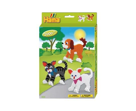 Hama – Hama ophængsæske hunde+katte /14, 1 stk. på lager på pixizoo
