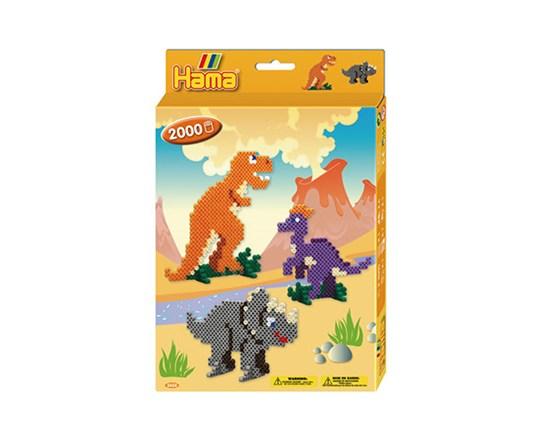 Hama ophængsæske dino-world /14, 2 stk. på lager fra Hama fra pixizoo
