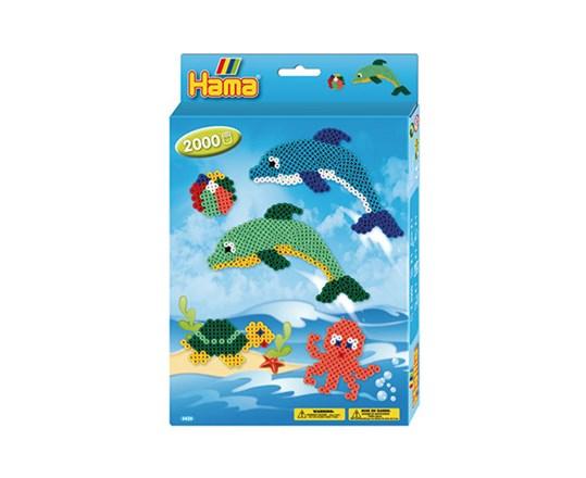 Hama – Hama ophængsæske delfiner /14, 2 stk. på lager fra pixizoo