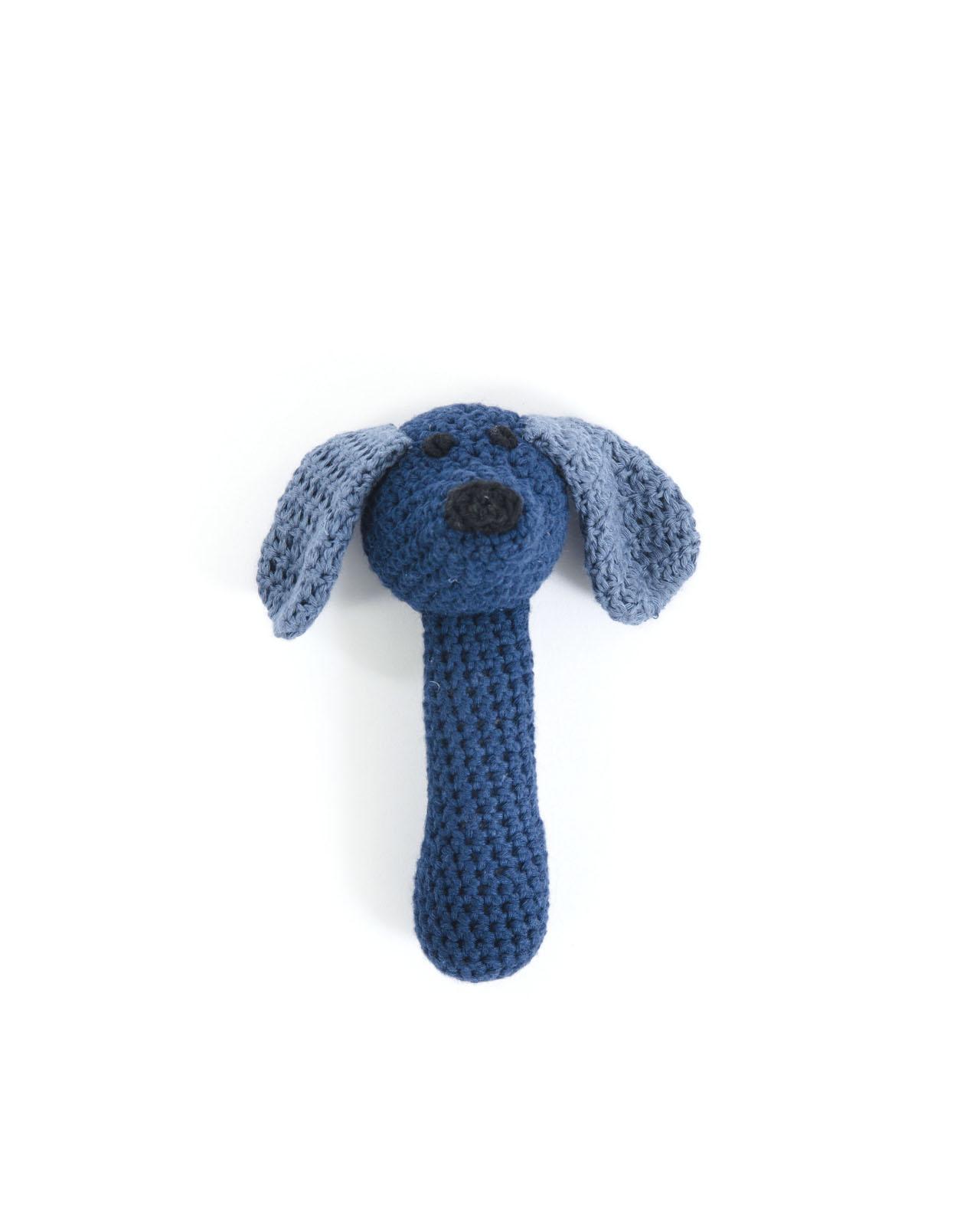 Smallstuff Maracas Hund - Blå