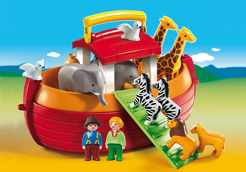Playmobil 1.2.3 (6765) Noah's Ark