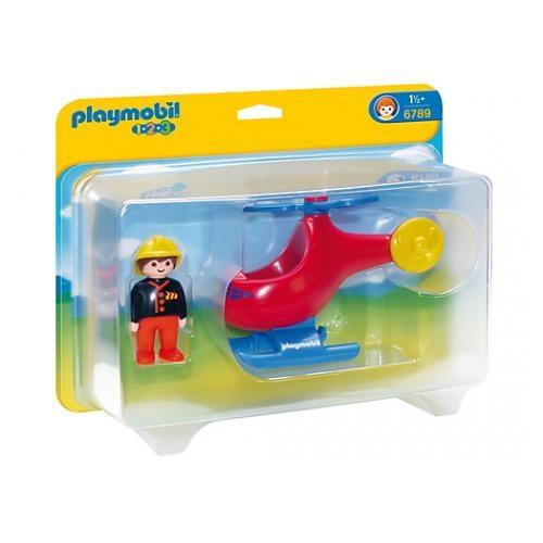 Playmobil 1.2.3 (6789) Brandhelikopter