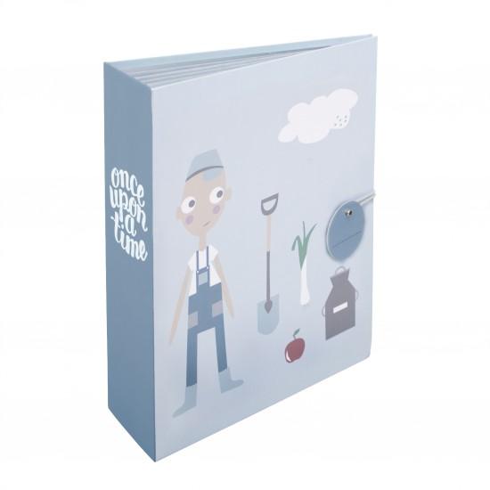 Sebra – Sebra - mappe til opbevaring, farm boy, 4 stk. på lager fra pixizoo