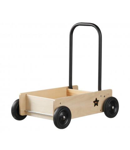 Kids Concept Lära-gå vagn NEO - Natur