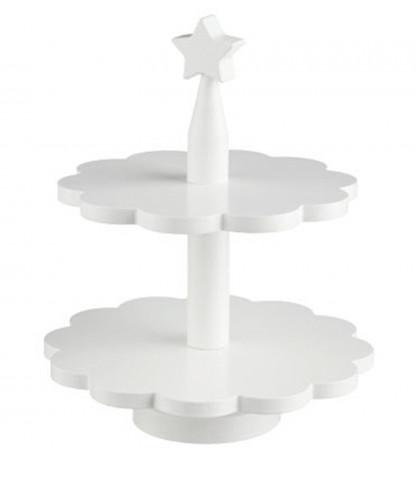 Kids concept Kids concept kage fad - hvid, 6 stk. på lager fra pixizoo