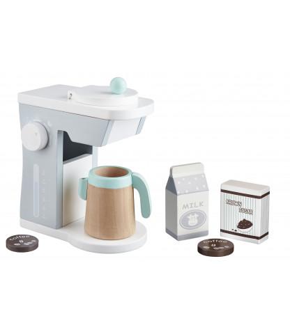 Kids concept – Kids concept kaffemaskine sæt, 3 stk. på lager på pixizoo