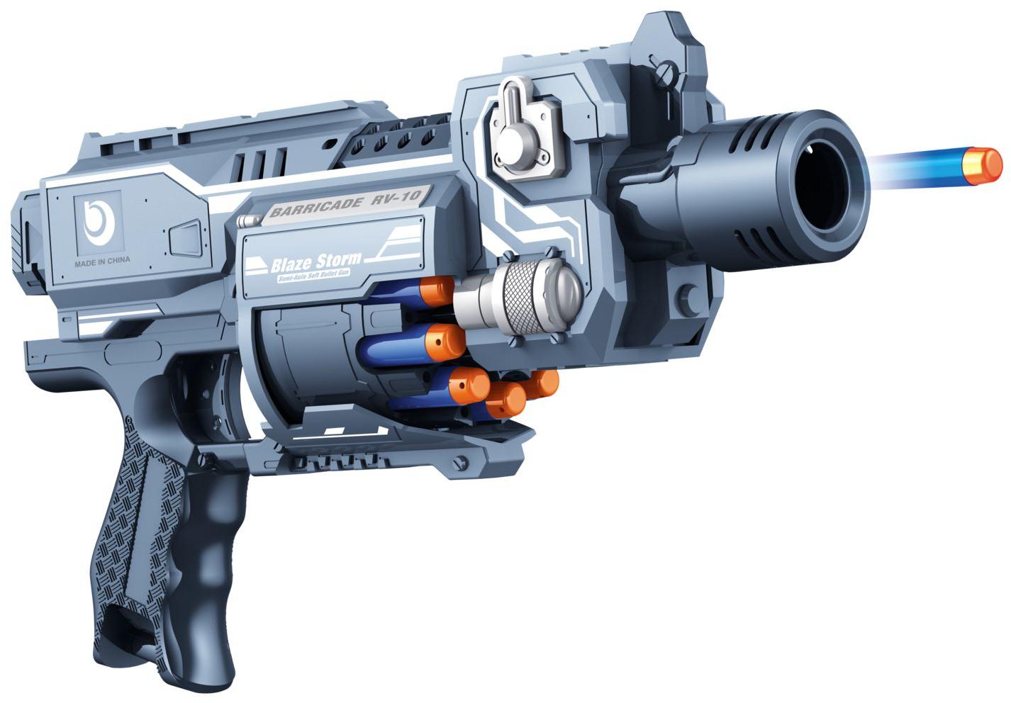 Air blaster – Air blaster neutron el-pistol soft bullet med 20 pile, +10 stk. på lager på pixizoo