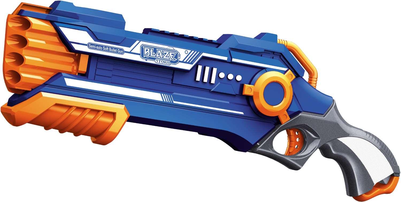 Air blaster Air blaster, soft bullet pumpgun med 20 pile - blaze fire, +10 stk. på lager på pixizoo