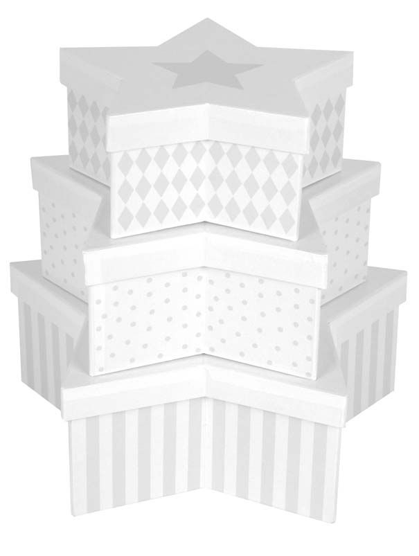 JaBaDaBaDo Star Förvaringsbox 3-pack