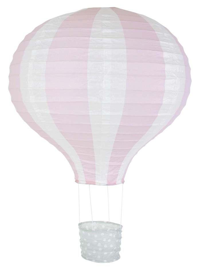 JaBaDaBaDo Papperslykta Luftballong - Rosa