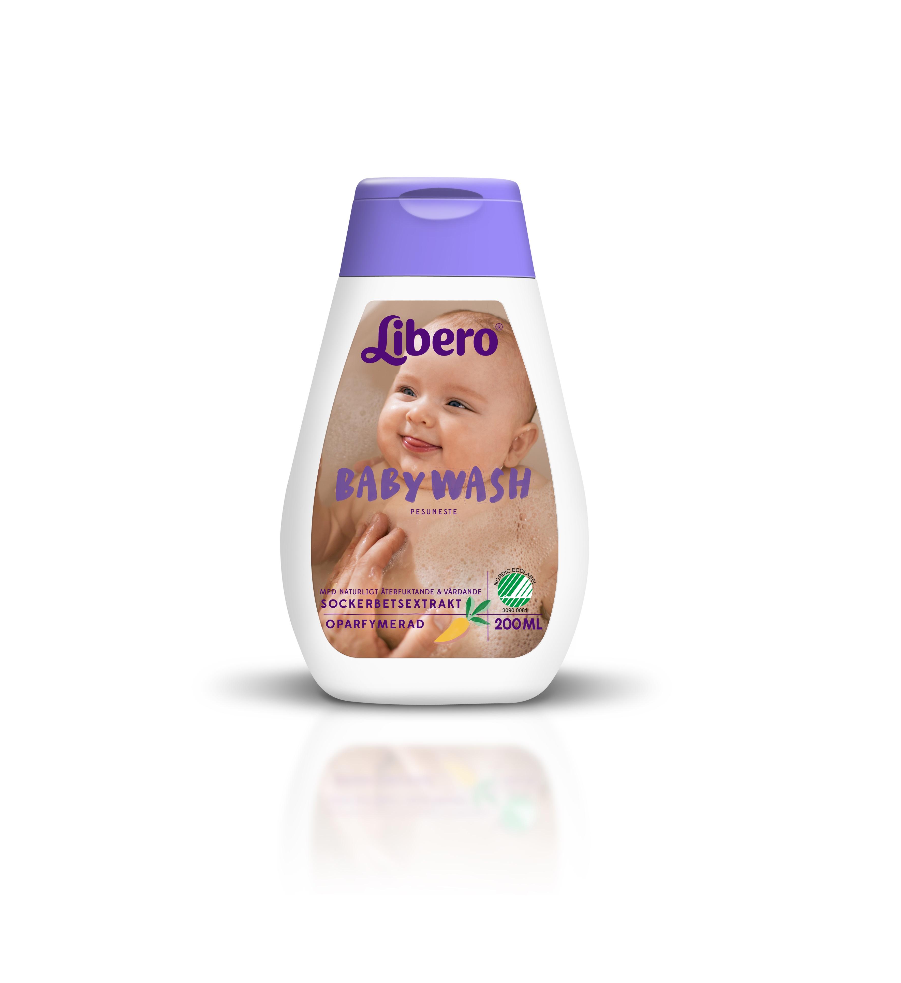 Libero baby wash plejeartikler, 8 stk. på lager fra Carlobaby fra pixizoo