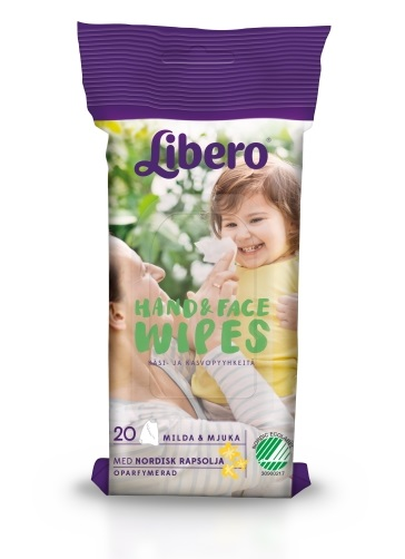 Carlobaby – Libero hand & face wipes plejeartikler, +10 stk. på lager på pixizoo
