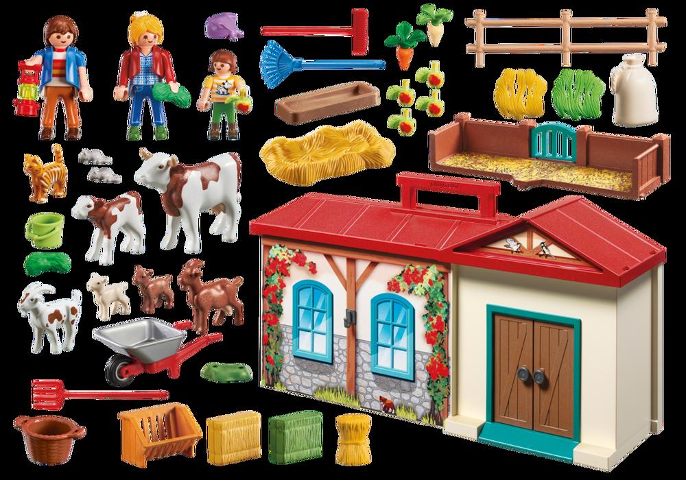 Playmobil Country (4897) Bärbar Bondgård