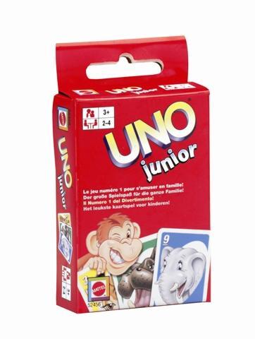 Uno Uno junior spil, 6 stk. på lager fra pixizoo