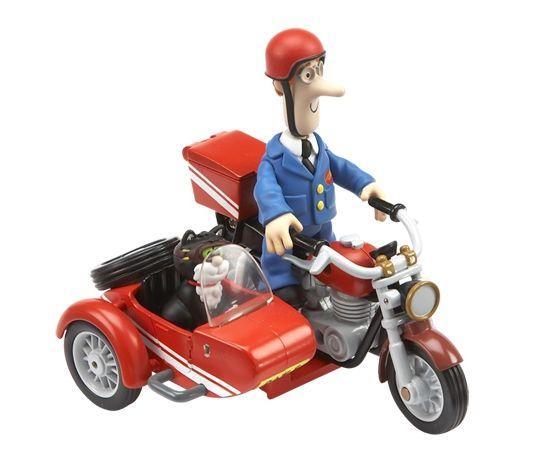 Postis Per Motorcykel med Sidovagn