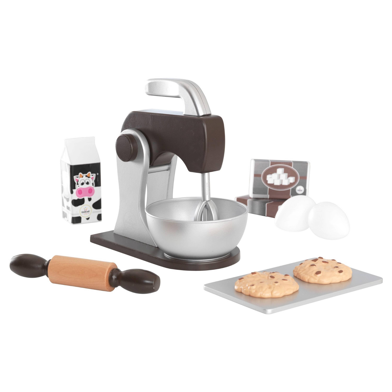 Kidkraft – Kidkraft bage sæt - espresso , 1 stk. på lager på pixizoo