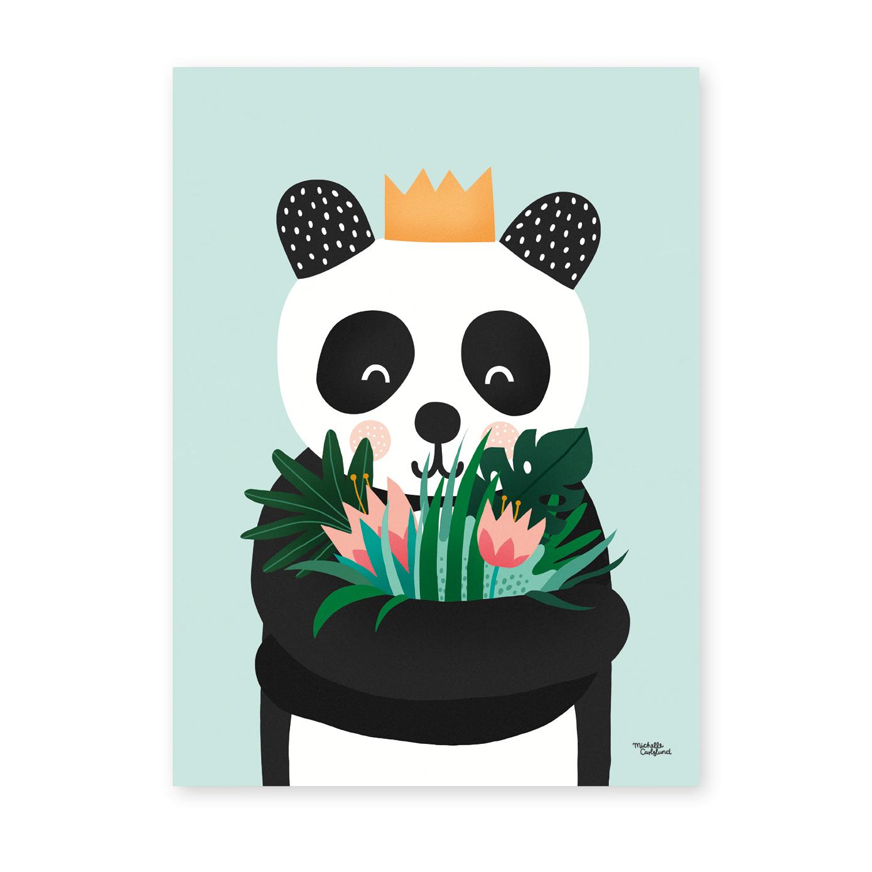 Michelle Carlslund 50 x 70 Plakat  - Panda
