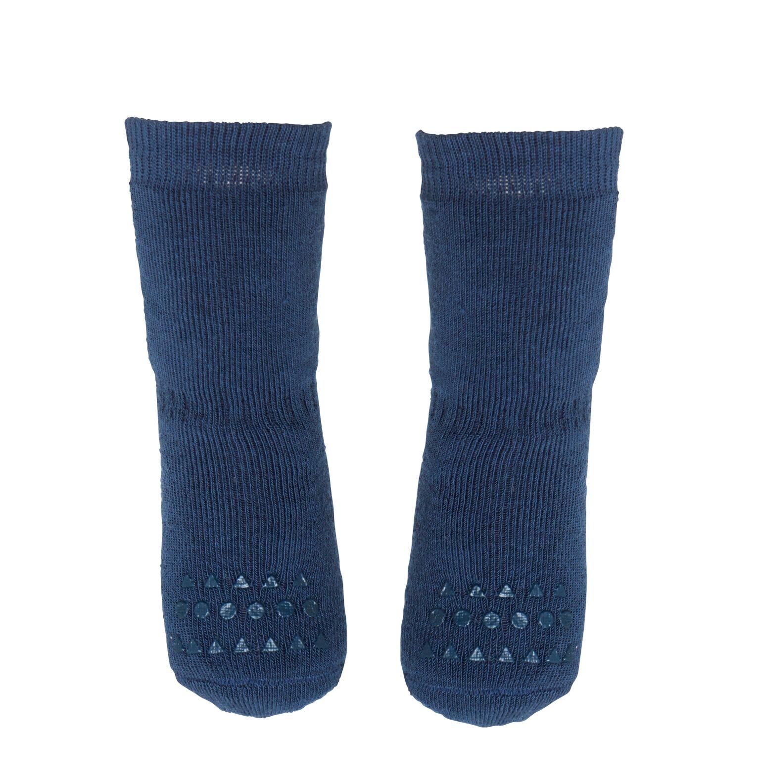 GoBabyGo Halkstrumpor 6-12 mån - Blå