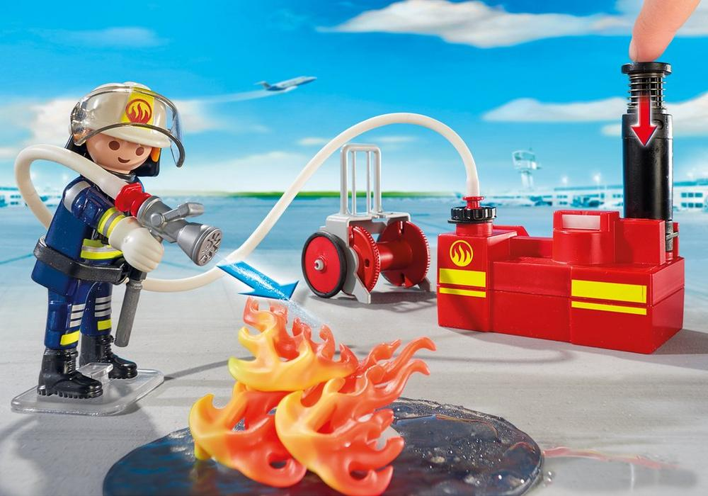 Playmobil City Action (5397) Brandsläckning med Vattenpump