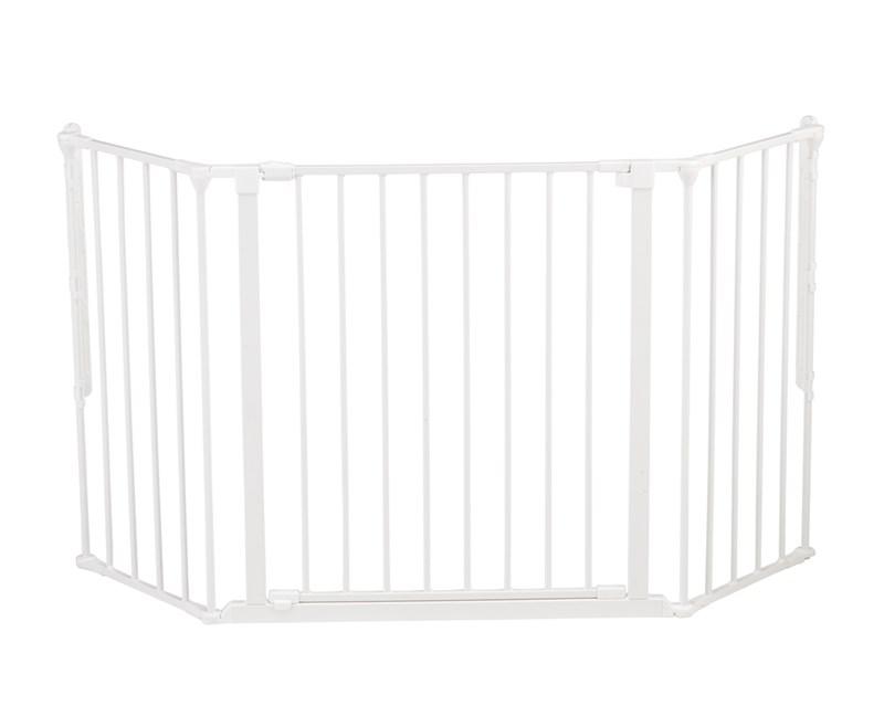 Baby dan Baby dan  -  flex m sikkerhedsgitter, hvid, 4 stk. på lager fra pixizoo