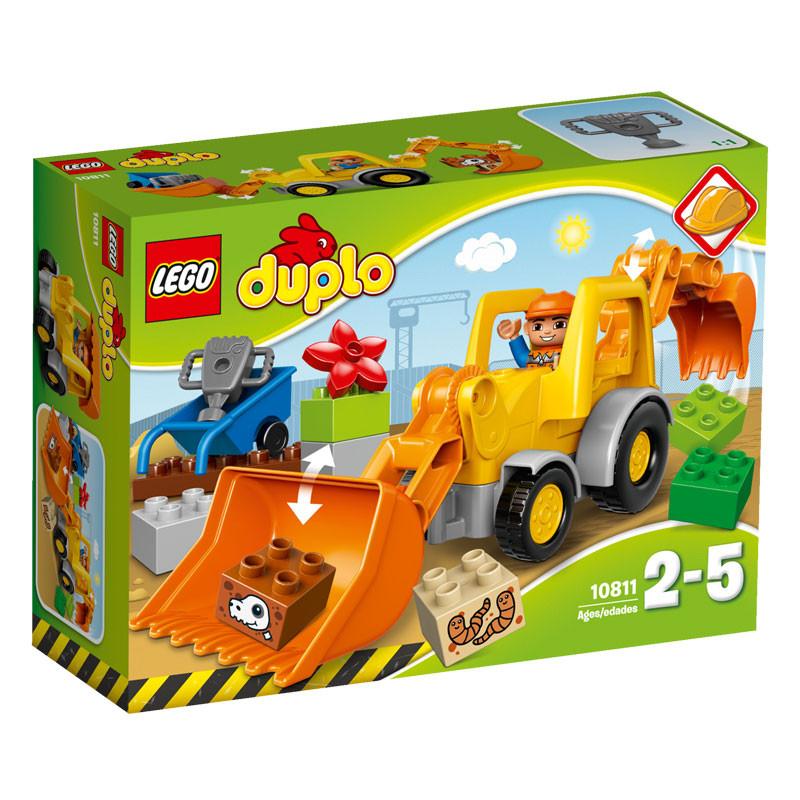 Lego duplo – Lego duplo - backhoe loader, 4 stk. på lager på pixizoo
