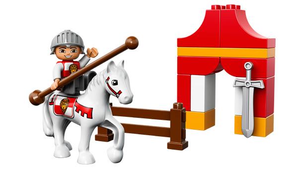 Lego duplo ridderturnering , 1 stk. på lager fra Lego duplo på pixizoo
