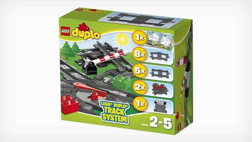 Lego duplo – Lego duplo tilbehørssæt til tog , 2 stk. på lager fra pixizoo