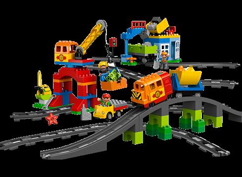 Lego duplo luksustogsæt, 1 stk. på lager fra Lego duplo fra pixizoo