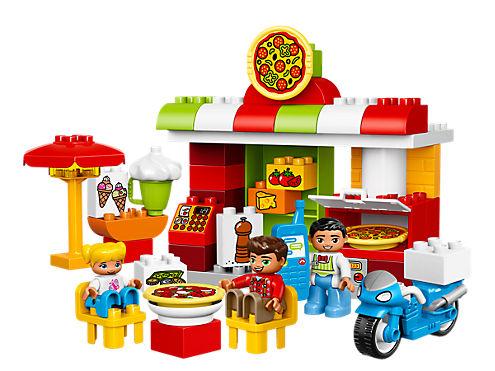 Lego duplo Pizzeria - lego duplo, 4 stk. på lager på pixizoo
