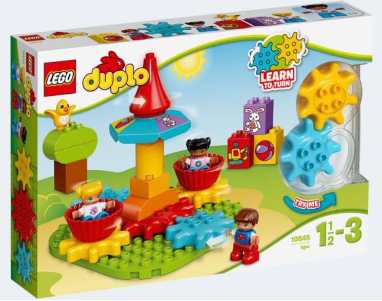 Lego duplo – Min første karrusel - lego duplo, 7 stk. på lager på pixizoo
