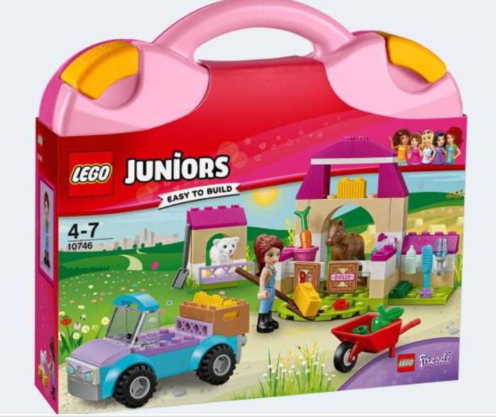Lego Juniors Mias Bondgårdsväska