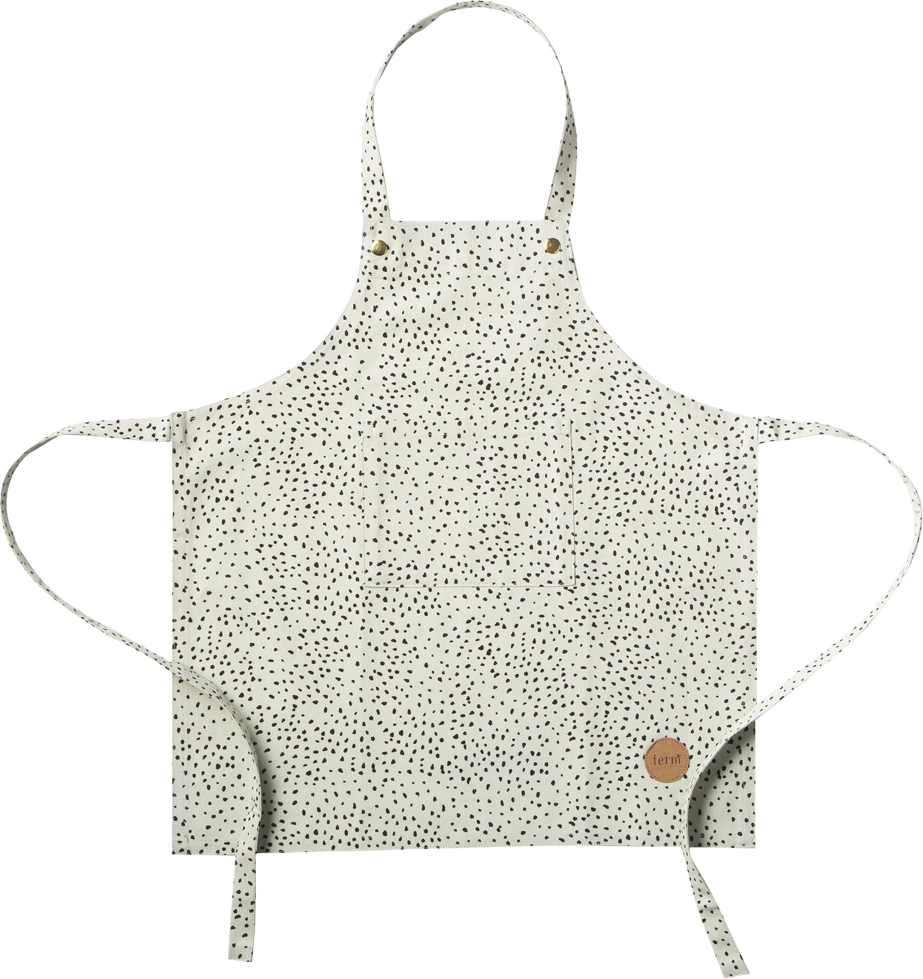 Ferm living – Ferm living - forklæde til børn, mint m. prikker, 2 stk. på lager fra pixizoo
